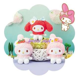 日版My Melody公仔♡日本限定 Sanrio/Piano/Kuromi/美樂蒂/plush/soft toy/kids doll
