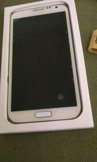Samsung Galaxy Note 2. Comes with everything. Unlocked
