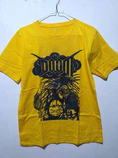 Band t shirt DOOM - INA TOUR -