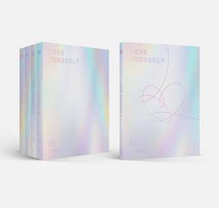 non-profit internal trading bts love yourself: answer