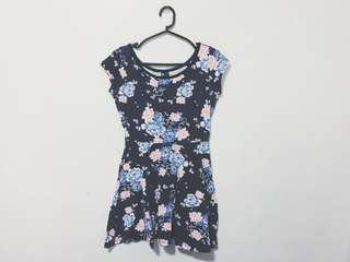 COTTON ON Floral Skater dress