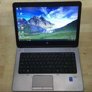 HP Probook 640 G1 Core i5 Radeon Graphic 10 Months HP Warranty To Go !!