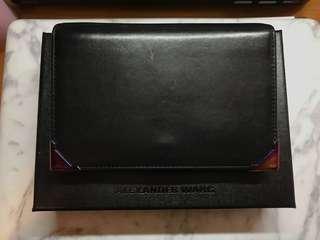 Alexander Wang wallet woman medium size luxury holography 名牌 正品 銀包 罕有幻彩角