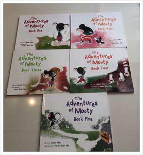 🚚 The adventures of Mooty ( 5 books set )