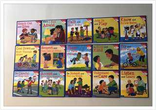 🚚 Learning to get along books ( Set of 15 )