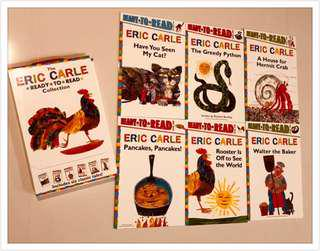 Eric Carle (6 books set ) Ready to read collection