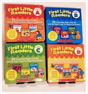 Scholastic Little Readers ( 25 books set )