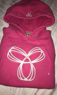 Pink pull over tna sweater