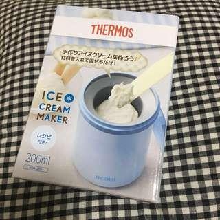 全新Thermos DIY雪糕杯(藍色)