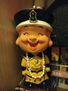 皇帝陶瓷公仔
