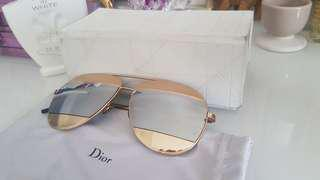 Authentic Dior Split Aviator Sunglasses