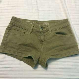 VANS Navy Green Shorts