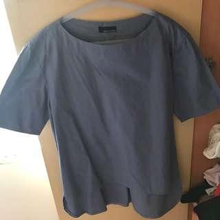 olin's closet blue top