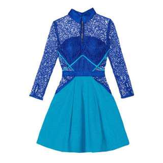 BNWOT Blue Dress in the style of Taylor Swift