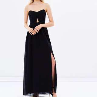 BNWT Black Cut-out Maxi Dress