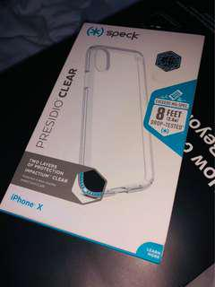 Speck Presidio Clear for iPhone X