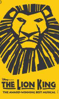 (Best Deal) The Lion King Musical @ 16 Aug