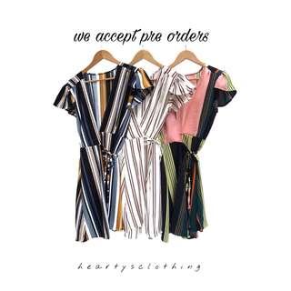Hannah Wrap on Dress