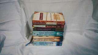 Dan Brown's & Mitch Albom Books