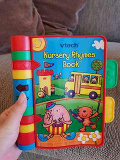 🚚 Vtech baby nursery rhymes musical book