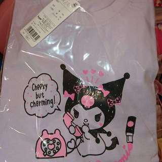 Kuromi T-shirt (Sanrio online shop 限定粉紫色) 中碼現貨