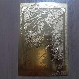龍珠 非官方金屬卡 (金色)