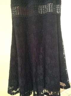 Bluenotes skater dress-dark blue. Size Xs