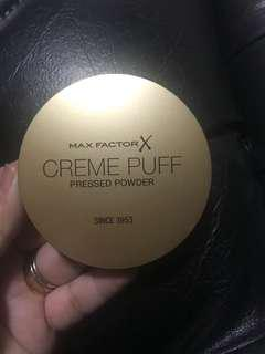 Max Factor X Creme Puff Pressed Powder