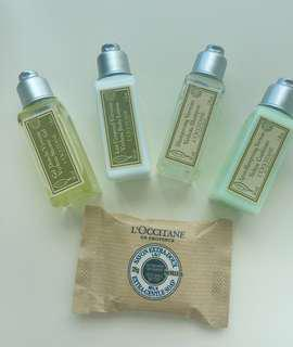 Loccitane Travel Set