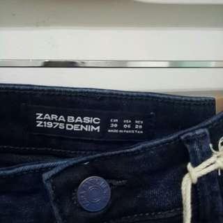 Zara basic denim with tag
