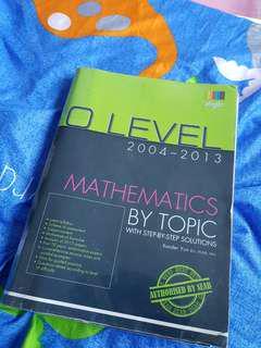 E Math Topical TYS O Level