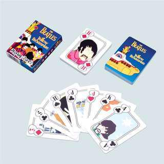 BNIB The BEATLES Card game