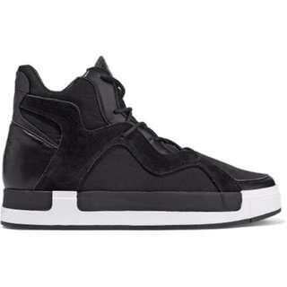 522b0e586fdb2 Y-3 Black Riyal III High-Top Sneakers Authentic Genuine