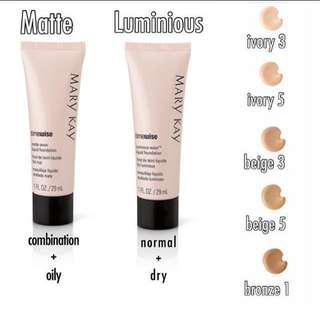 Mary Kay Timewise Matt-wear Liquid Foundation - Beige 3
