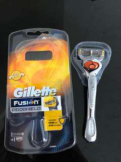 Gillette Fusion Proshield Handle Only - Used