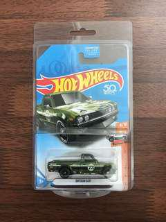 Hotwheels $TH Datsun 620 Including protector