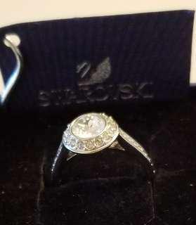 uthentic Swarovski ring size 7.5 - Brand New