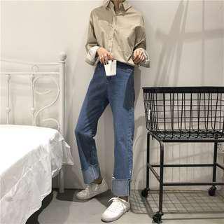 Wide Pants Denim