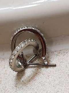 Authentic Swarovski Earrings - Brand New