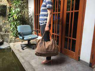 Travel Bag by Hnm Pull n Bear Postman Zara Topman