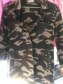 3/4ths army jacket