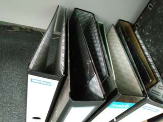 Used box files