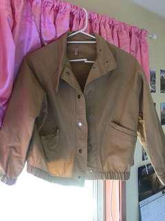 cute brown jacket