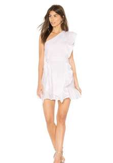 BNWT Lioness sliding doors ruffle dress
