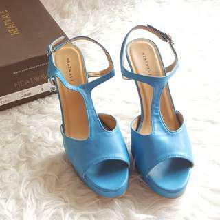 Heatwave Light Blue Heels