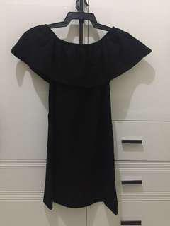 Cotton On Black Off Shoulder Dress