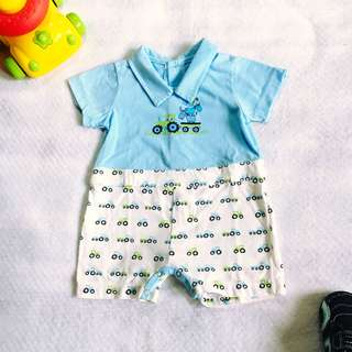 Baby Boy Hush Hush Romper Outerwear (3M-6M on tag)