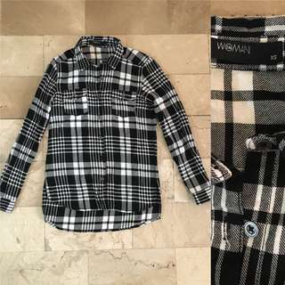 BNEWOT Plaid top