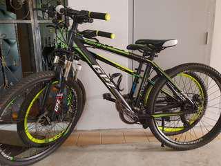 2x GPZ Mountain Bikes (Medium & Small)