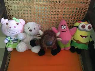 Stuffed toys bundle